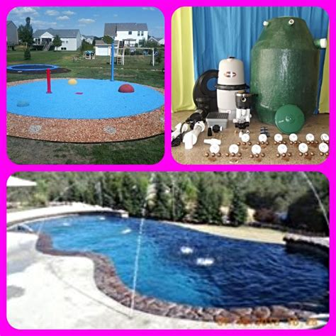 backyard splash pad diy 1000 images about my splash pad diy residential backyard