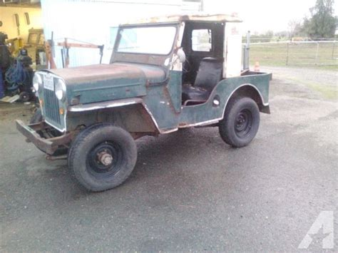Jeep For Sale California 1953 Jeep Willys Cj3b For Sale In Arboga California