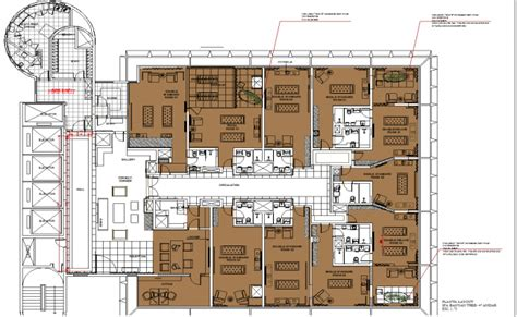 autocad layout design center spa massage center interiors layout dwg cad drawing