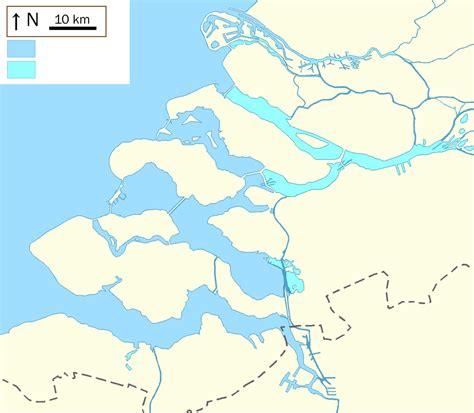 brouwersdam nederland deltawerken wikipedia