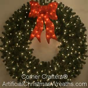 wreaths lighted 5 foot prelit wreath