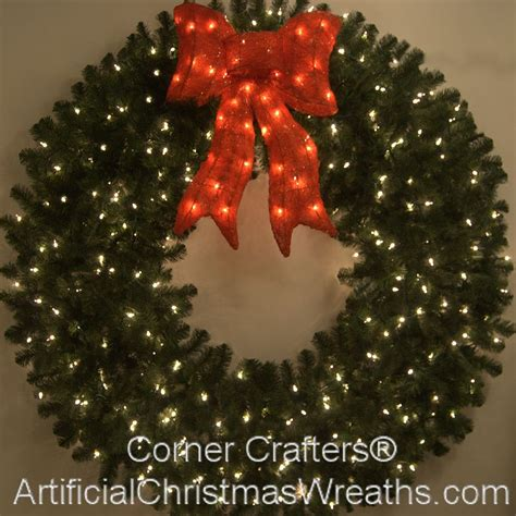 5 foot prelit christmas wreath
