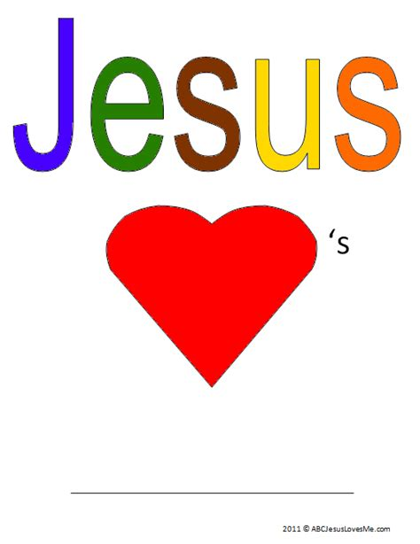 Abcjesuslovesme Worksheets by 4 Year Week 32 Abc Jesus Me
