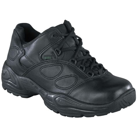 and black athletic shoes s reebok 174 oxford athletic shoes black 580902