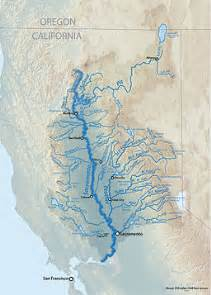 northern california rivers map map of the sacramento river watershed