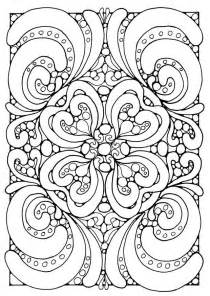geometric pattern coloring pages az coloring pages