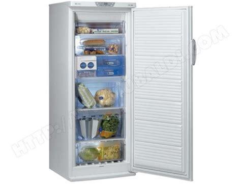 congelateur a tiroir pas cher whirlpool afg8265nf pas cher cong 233 lateur armoire