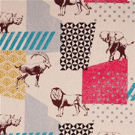 html input pattern safari natural colored echino zon canvas fabric pattern safari