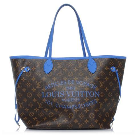Ikat Pinggang Louis Vuitton Lv Mono Initial Belt Original louis vuitton monogram ikat neverfull mm grand bleu 42489