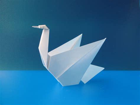Origami Swan Pdf - cigno swan tecnica origami con foglio unico quadrato