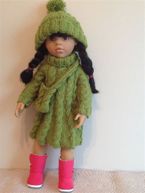pattern clothes doll dolls fashion clothes knitting pattern 18 doll will