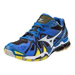 Sepatu Mizuno Wave Tornado 9 Low Blue Premium Quality racquetball shoes for 2015 sole of athletes