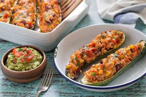 stuffed zucchini boats grilled grilled zucchini boats the healthy tart