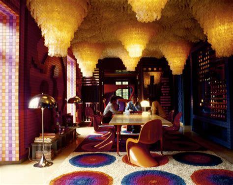 Verner Panton Room by Douglascain Interior Inpiration Verner Panton