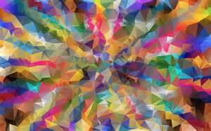 Clipart Colorful Low Poly Wallpaper Colourful Images