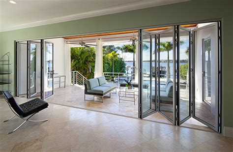 accordion glass patio doors folding patio doors nanawall