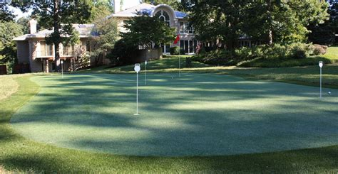 backyard putting greens backyard putting greens mclean putting green turf