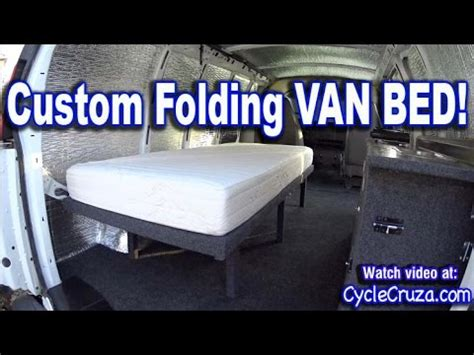 Bunk Bed Rv Floor Plans by Bug Out Camper Van Build Part 4 Folding Bed Brentwood
