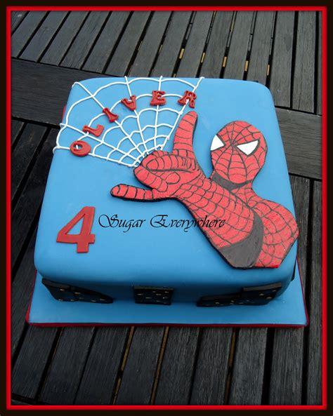 spiderman cake marvel