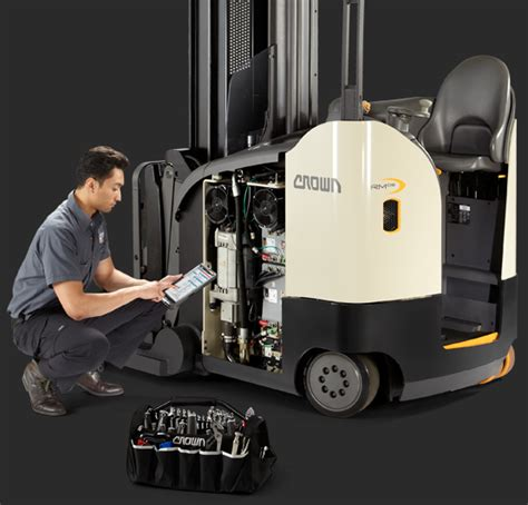 Forklift Technician by Integrity Service Program Crown Equipment Corporation
