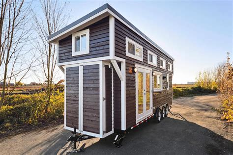 tiny mobile custom mobile tiny house with large kitchen and two lofts