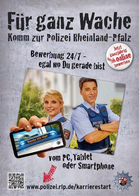 Bewerben Polizei Voraubetzungen Ganzj 228 Hrig Bei Der Polizei Bewerben Www Polizei Rlp De Karrierestart