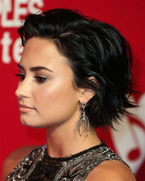 demi bob hairstyles demi lovato hair bob google search hair ideas