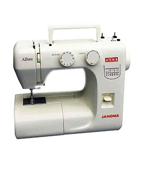 usha swing machine price usha janome allure sewing machine available at snapdeal