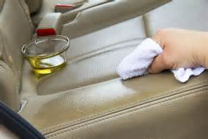 how to make a homemade remedy for cleaning leather car