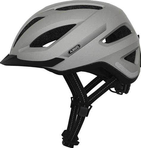 E Bike Helm Deutschland by Abus Pedelec E Bike Und S Pedelec Fahrradhelm Silver