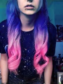 cool colored hair colours cool hair tuning style image 651430 on favim