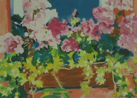 biggar painting windowbox biggar sold patricia sharp art