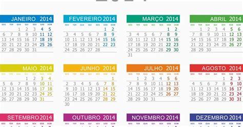 Calendario H 2014 Central Photoshop Calend 225 2014 Colorido Portugu 234 S E