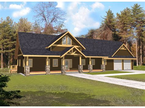 Rustic Home Plan by Indian Pass Rustic Home Plan 088d 0339 House Plans And More