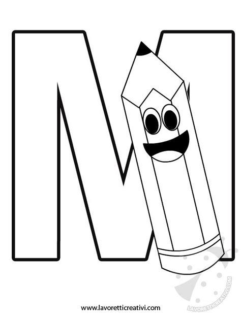 lettere alfabeto con disegni per bambini alfabeto con disegni lettera m