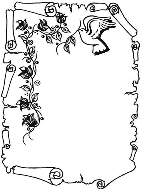 caratulas en pergamino para llenar dibujos de pergaminos para colorear imagui