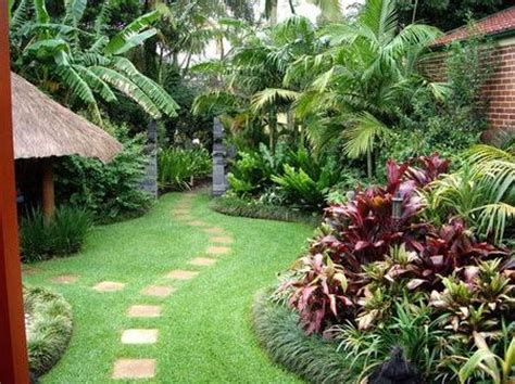 Tropical Backyard Landscaping Ideas Tropical Backyards Well Maintained Tropical Backyard Garden In Your Mind For Our Backyard