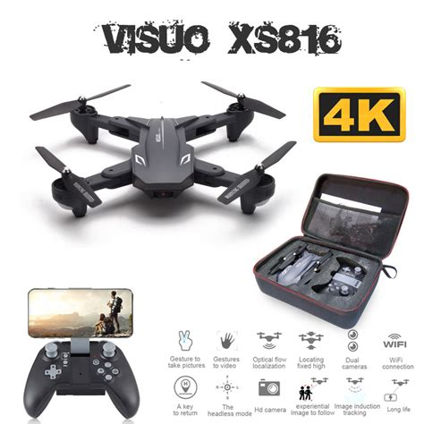 visuo xs drone   times zoom wifi fpv p   dual camera optical flow quadcopter