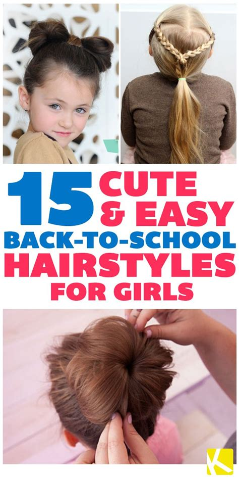 easy and quick hairstyles for school dailymotion 92 cute updos for long hair kids very easy hairstyles