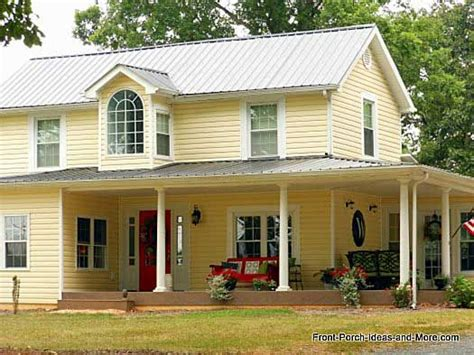 yellow house with red door yellow house red door white trim exterior house color
