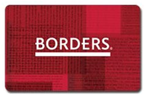 Borders Bookstore Gift Cards - all borders gift cards now expire april 3 gizmodo australia