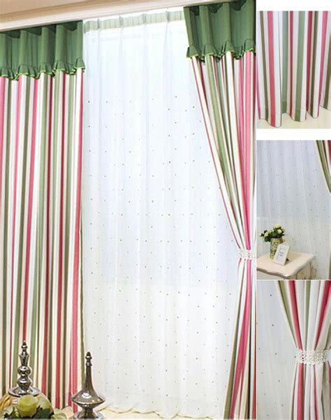 striped pink curtains pink striped curtains curtain menzilperde net