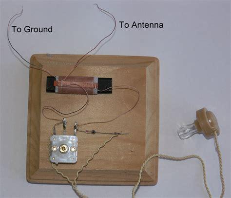 how to make a simple capacitor prof dr carlos santana building a simple radio radio de galena
