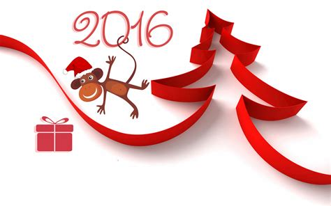 new year of the 2016 2016