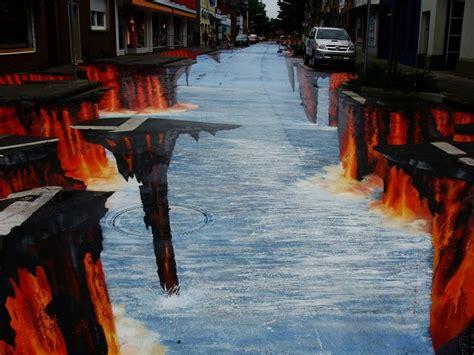 imagenes en 3d en el piso los 15 mejores dibujos 3d pintados en el suelo