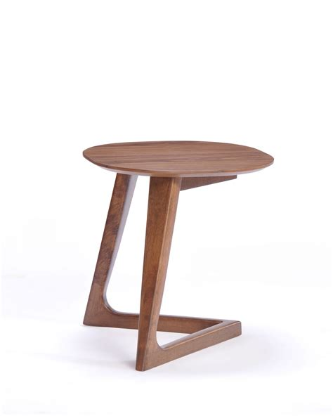 accent tables modern modrest jett modern walnut end table end tables living