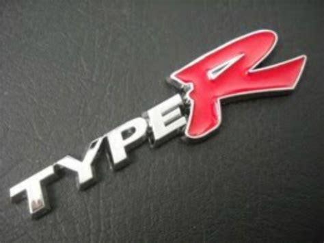 Emblem Honda Type R emblem type r ukuran 12 5x3cm