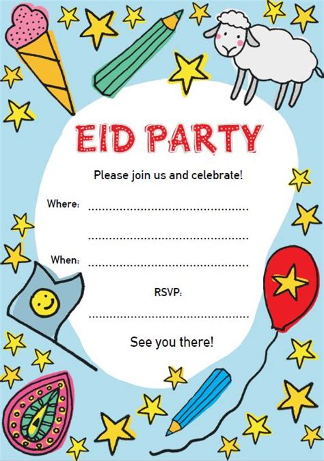 eid invitation card template invitation cards for eid choice image invitation