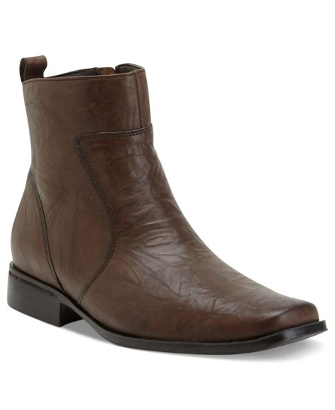 rockport boots rockport s toloni boots in brown for lyst