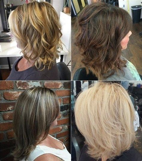 shoulder length hair with layers at bottom 80 sensational medium length haircuts for thick hair